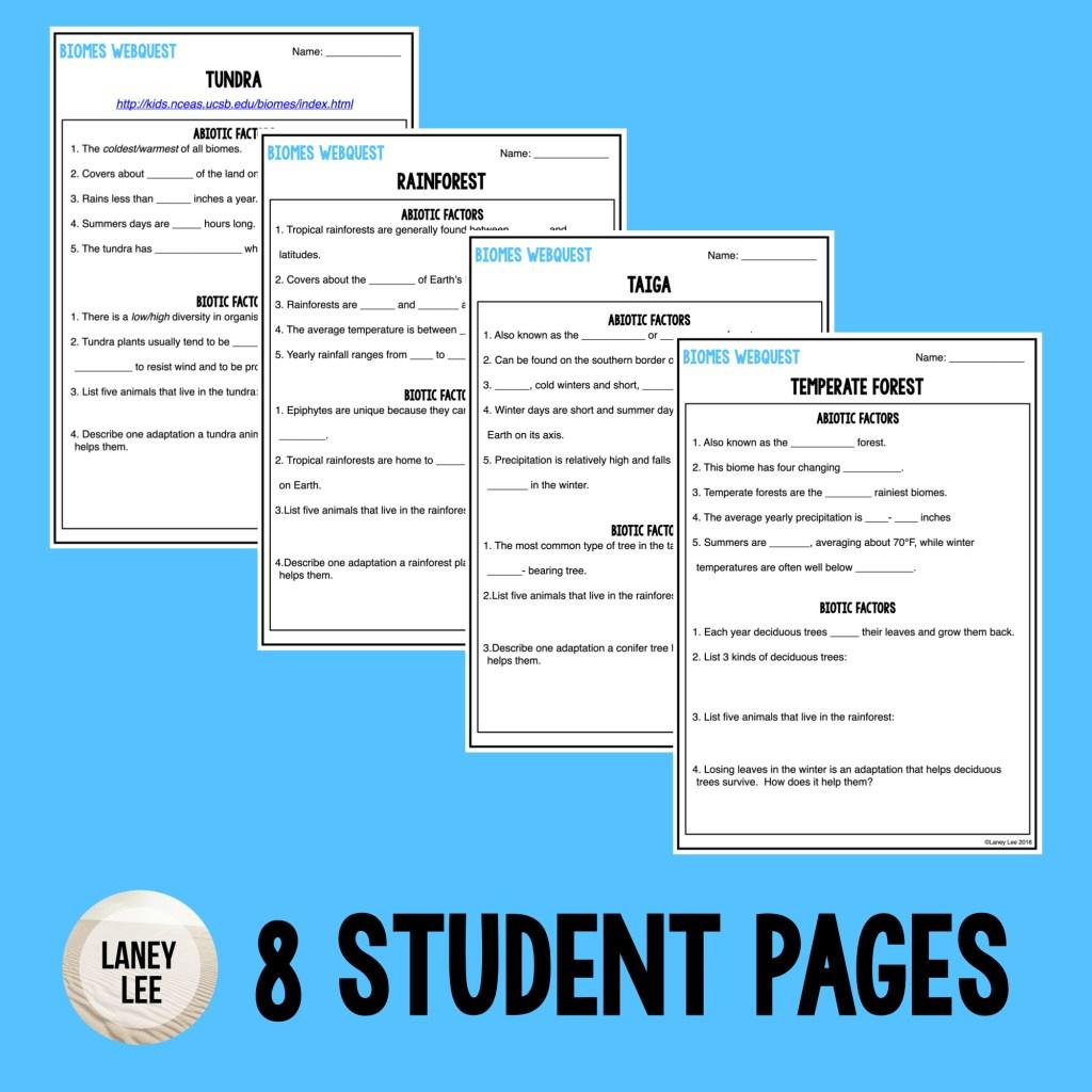 biomes webquest pdf answer key
