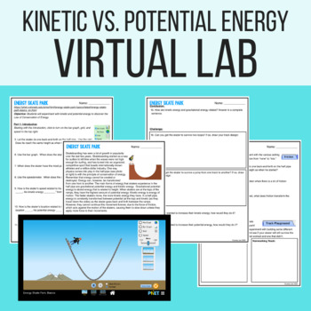KINETIC AND POTENTIAL ENERGY VIRTUAL LAB