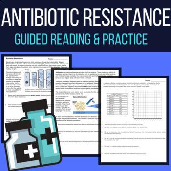 antibiotic resistance worksheet