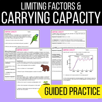 carrying capacity limiting factor