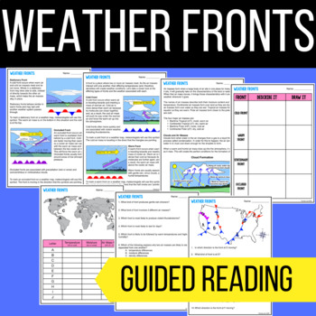 weather fronts air masses