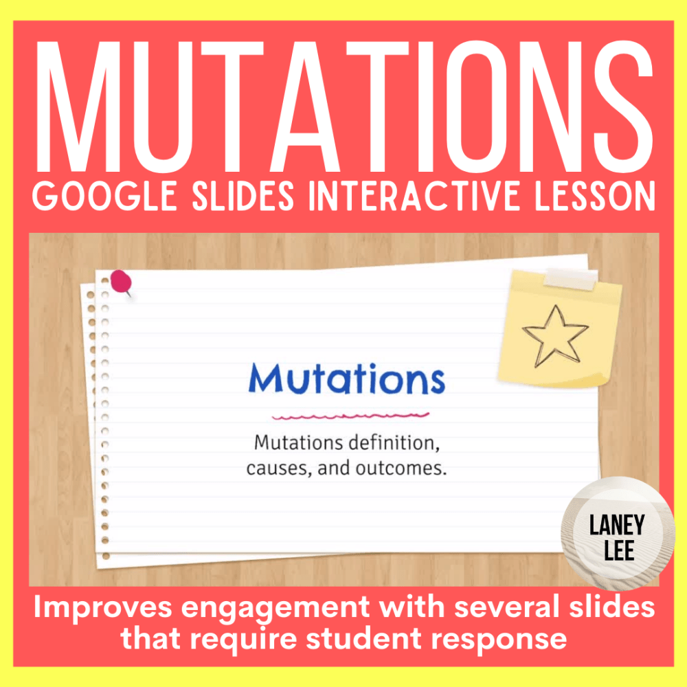 DNA Mutations Google Slides Presentation