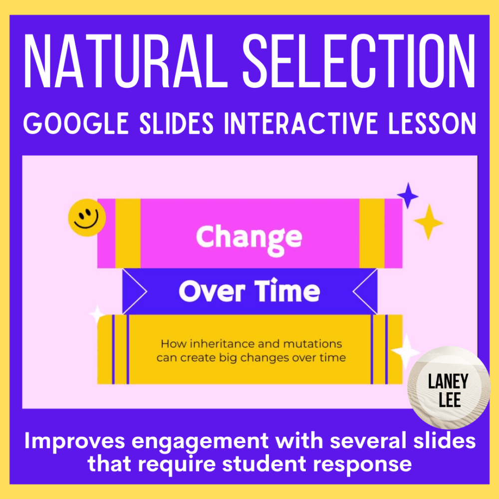 Natural selection google slides presentation