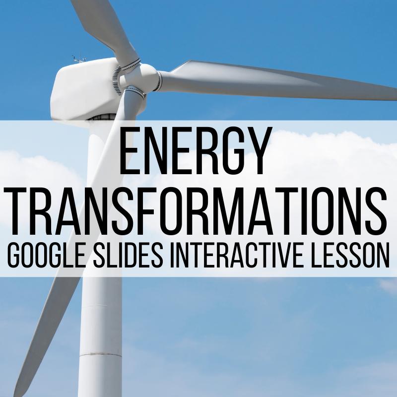 energy transformations google slides presentation