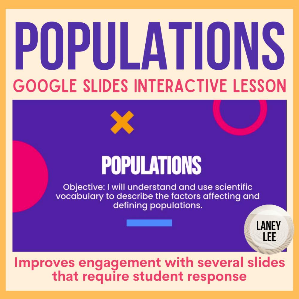 populations presentation google slides