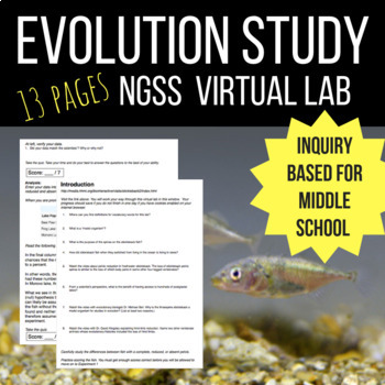 evolution virtual lab
