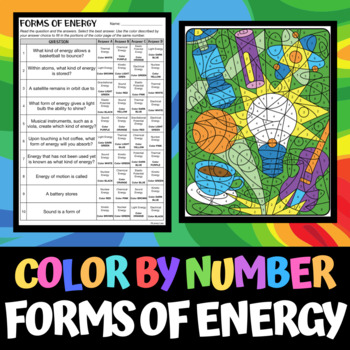 color by number science