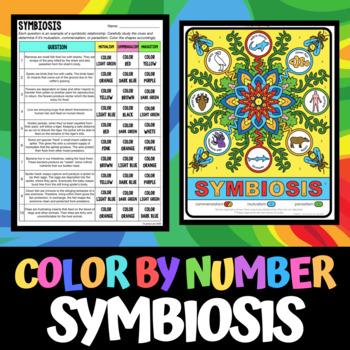 color by number symbiosis