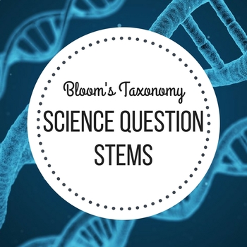 blooms question stems science