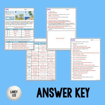 biomes worksheet answer key pdf
