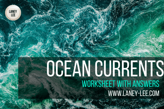 ocean currents worksheet PDF answer key