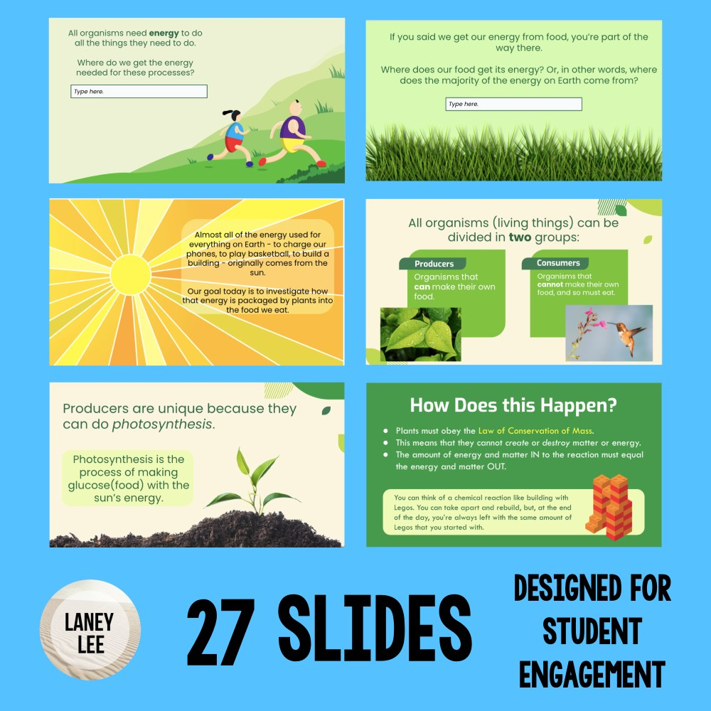 photosynthesis google slides presentation