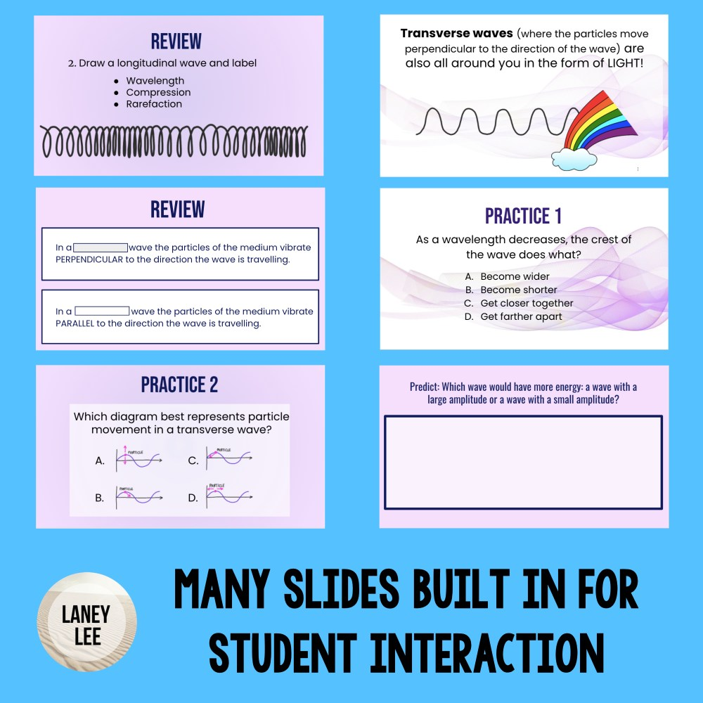 waves lesson google slides