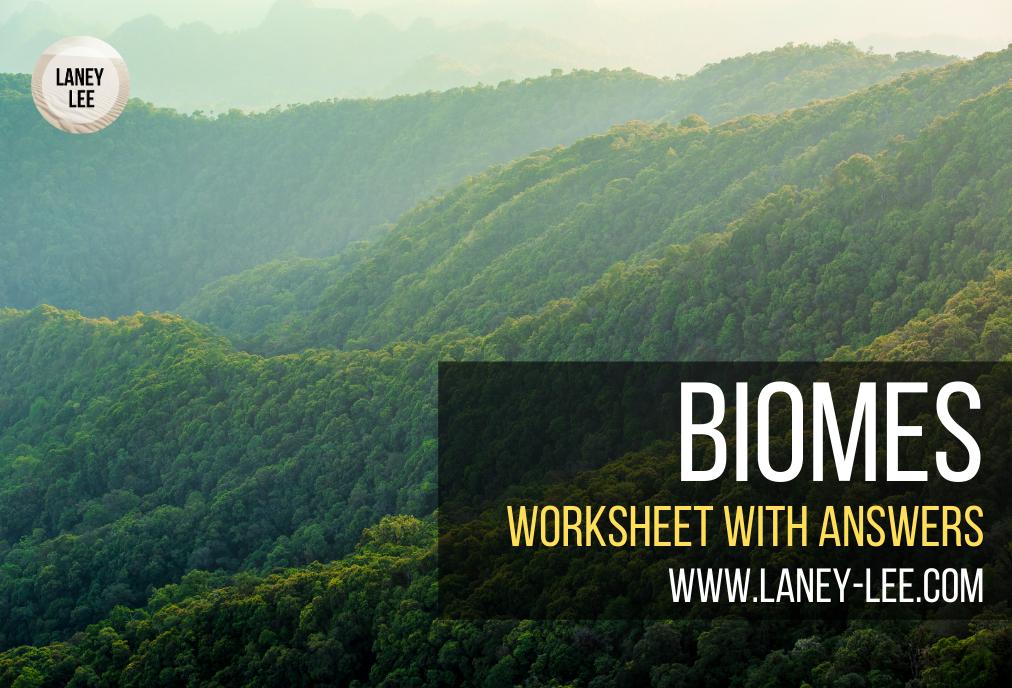biomes worksheet pdf answer key