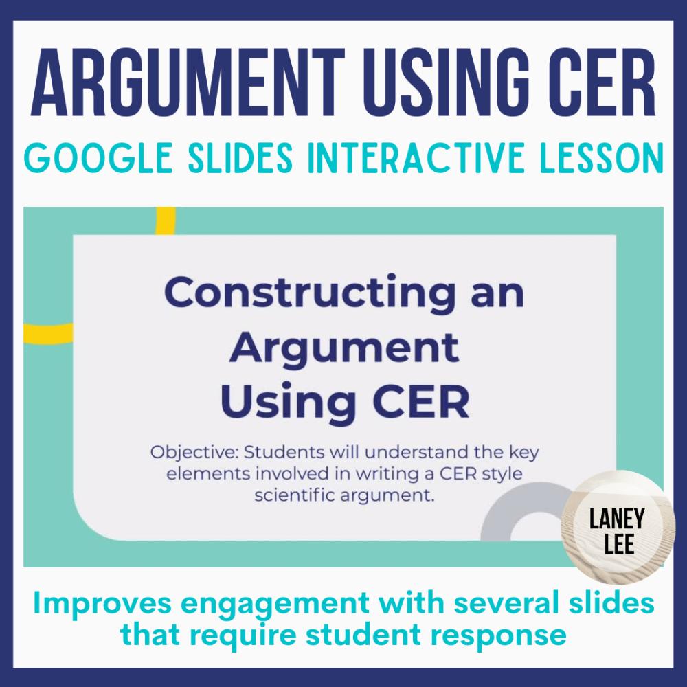 construct an argument CEr