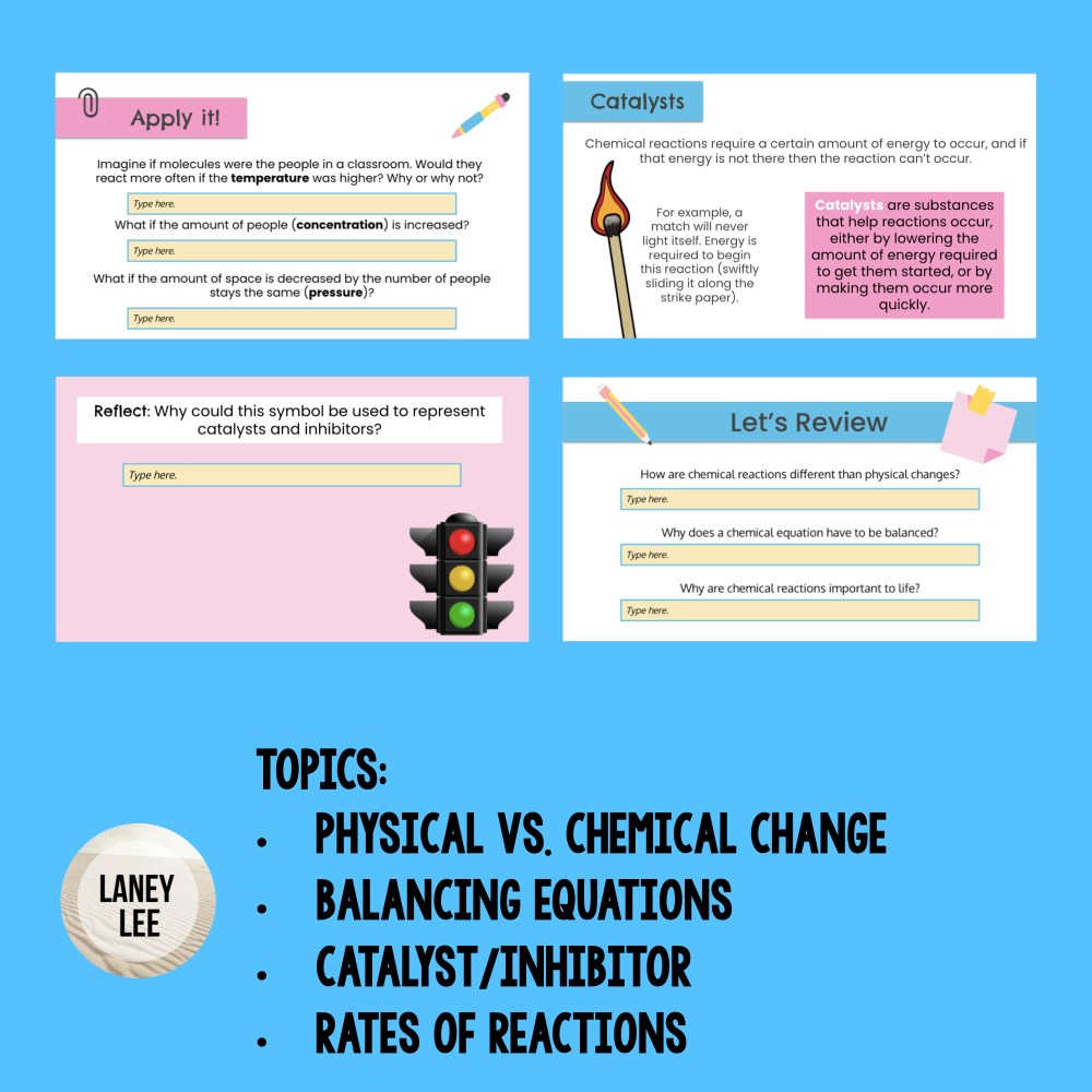 chemical bonds google slides presentation