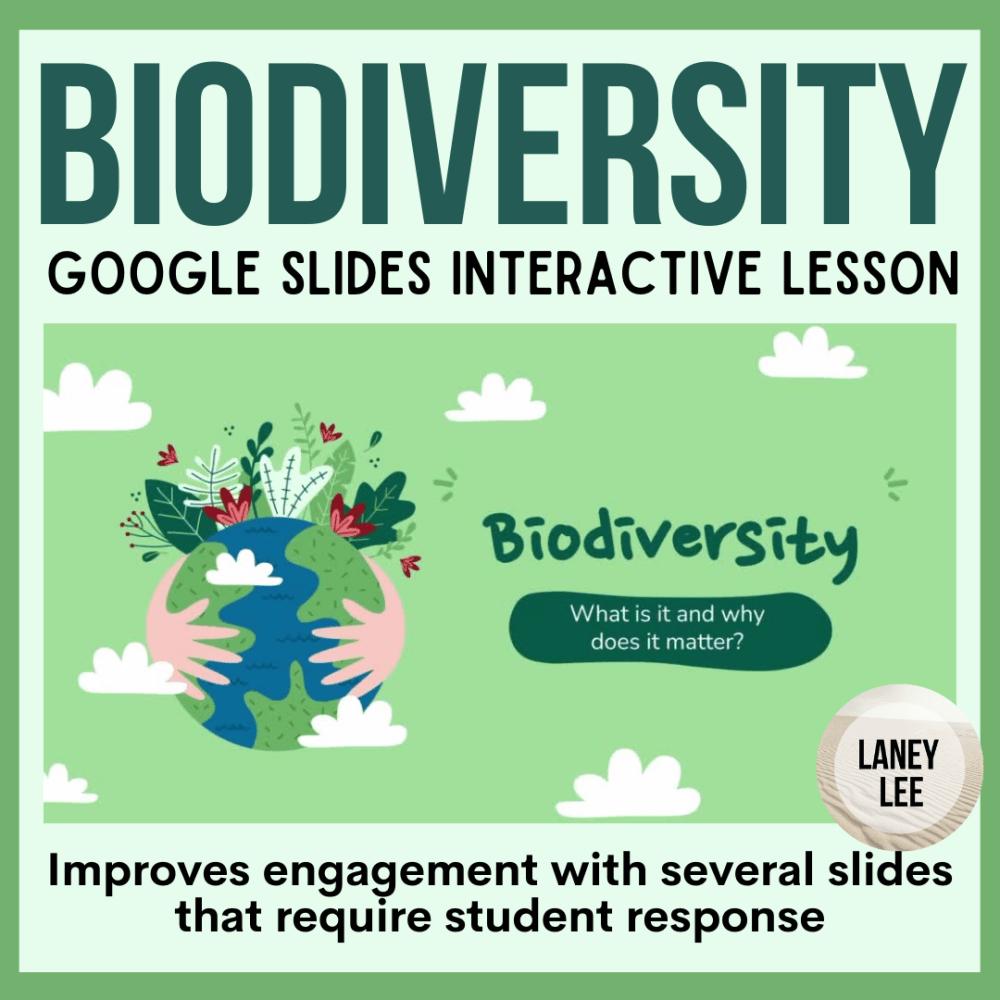 biodiversity google slides presentation
